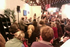 In the Literary Translation Centre at this year's London Book Fair