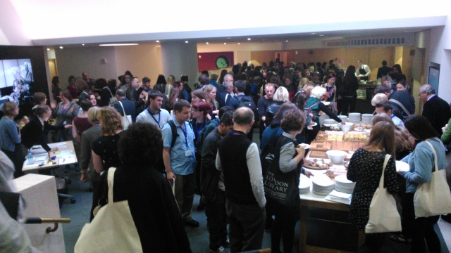 Lunchtime crowd at ITD13
