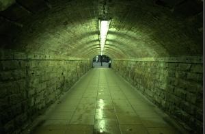 UK subway, tunnel, underpass