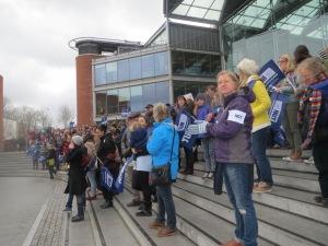 NUT Strike Rally, Norwich, March 26, 2014