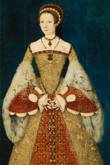 Portrait of Katherine Parr